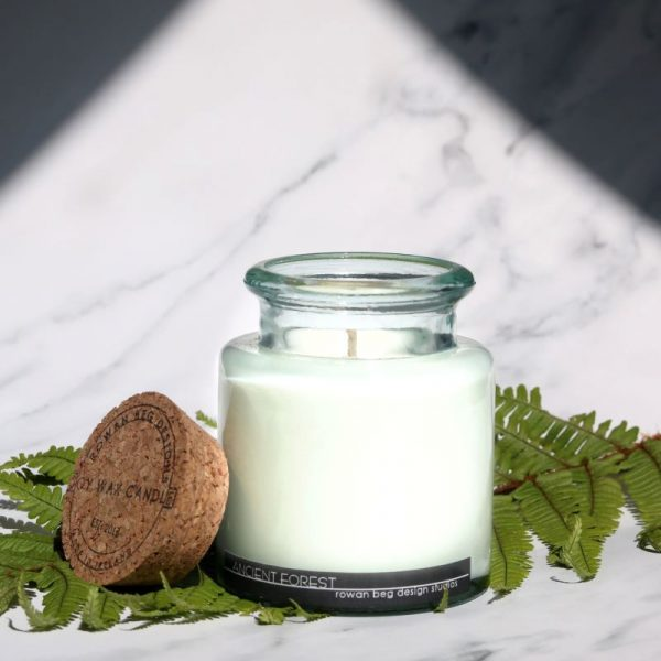 Ancient Forest Candle, Glass Jar, Connemara Collection