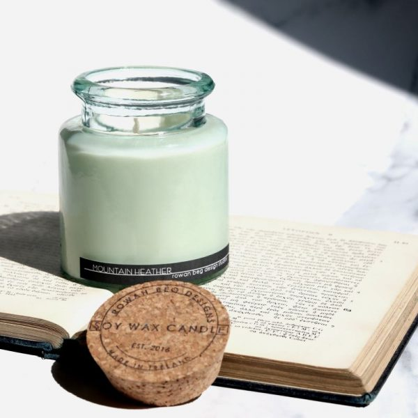 Mountain Heather Candle, Connemara collection, glass jar candle