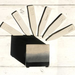 Herb Sticks and Planter Gift Set